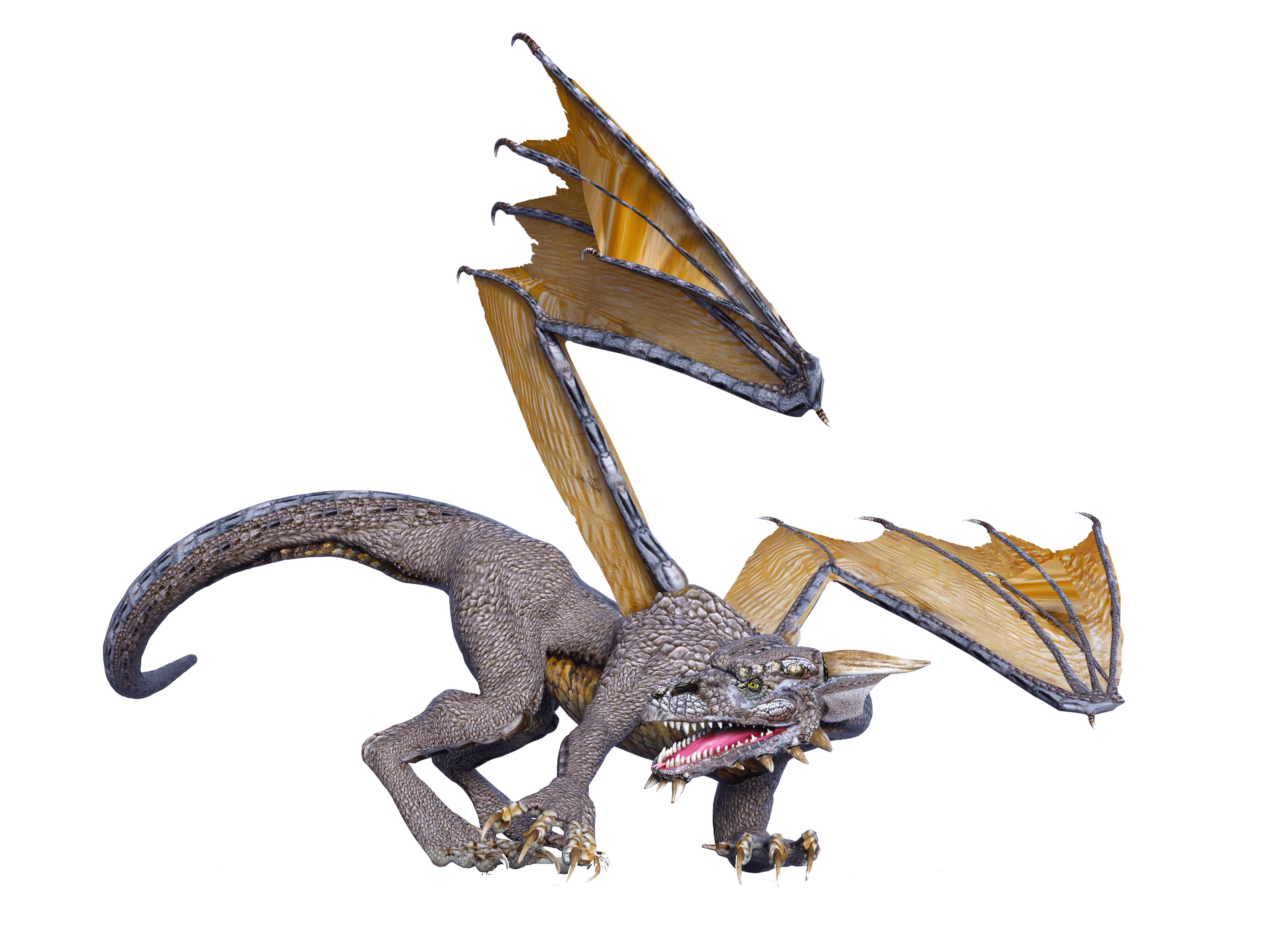 dragon crawling