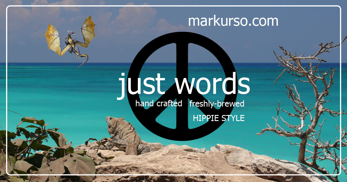blog banner with peace sign
