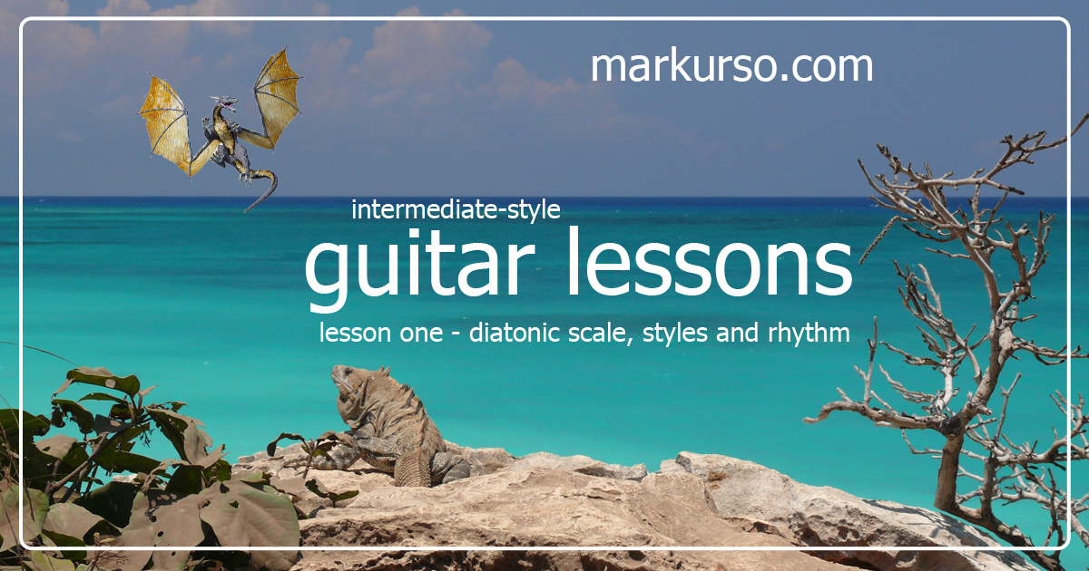 Guitar Lessons with Mark Urso