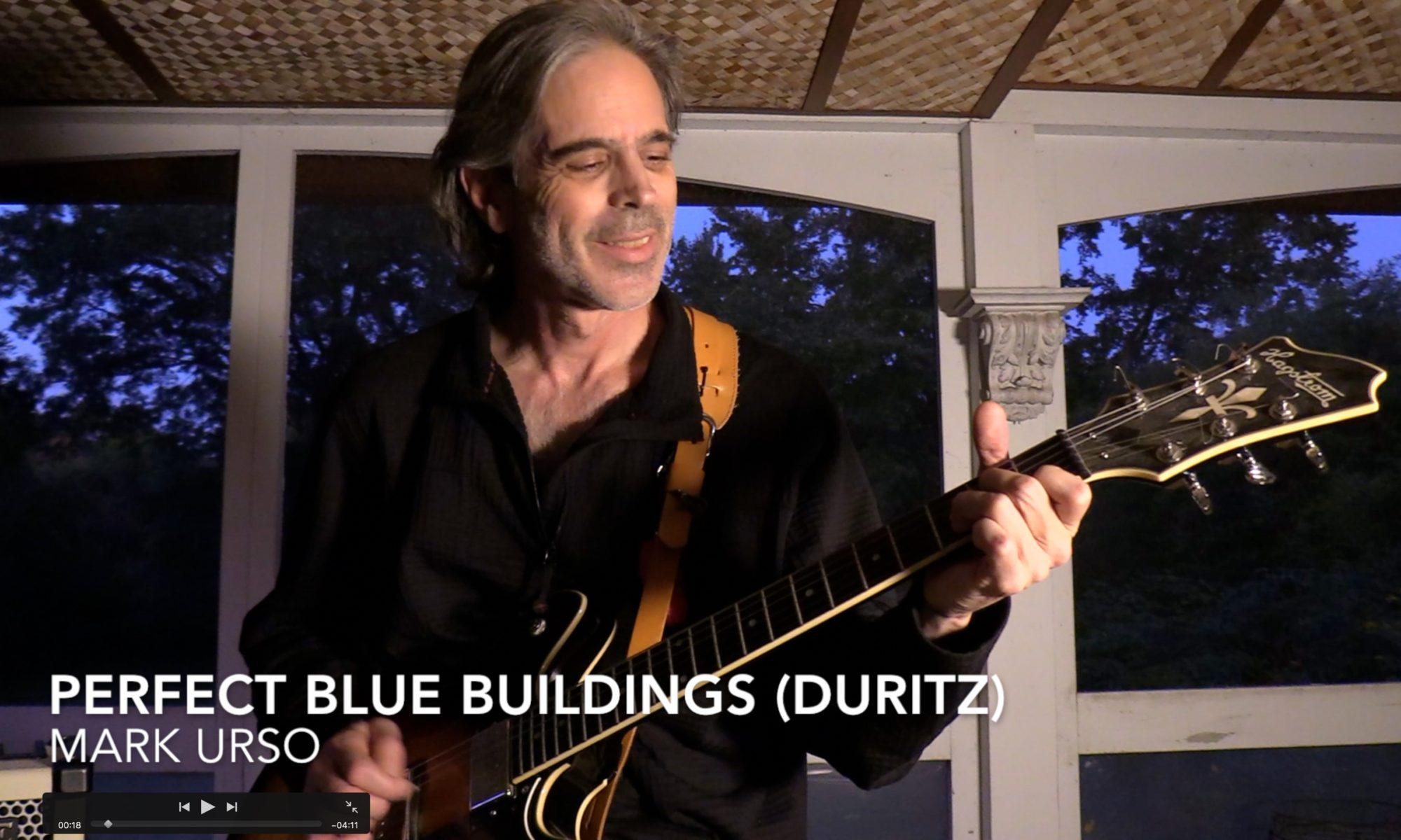 Mark Self Perfect Blue Buildings 04